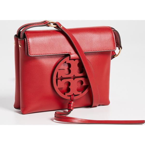 (取寄)トリーバーチ ミラー クロスボディ バッグ Tory Burch Miller Crossbody Bag Red