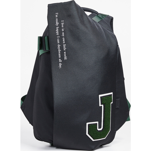 (取寄)コートエシエル ジョンアンダーカバー イザール エコヤーン ミディアム バックパック Cote & Ciel x JohnUNDERCOVER Isar Ecoyarn Medium Backpack Black