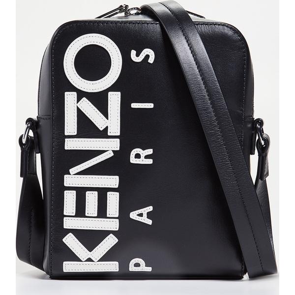 (取寄)ケンゾー ロゴ ラージ クロスボディ バッグ KENZO Logo Large Crossbody Bag Black