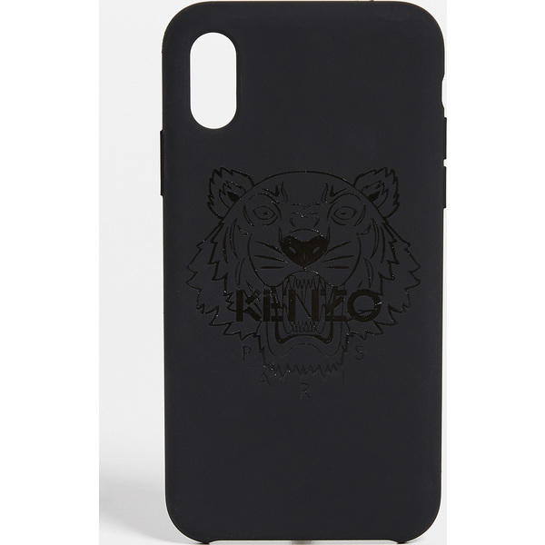 (取寄)ケンゾー タイガー ヘッド iPhone X / XS ケース KENZO Tiger Head iPhone X / XS Case Black
