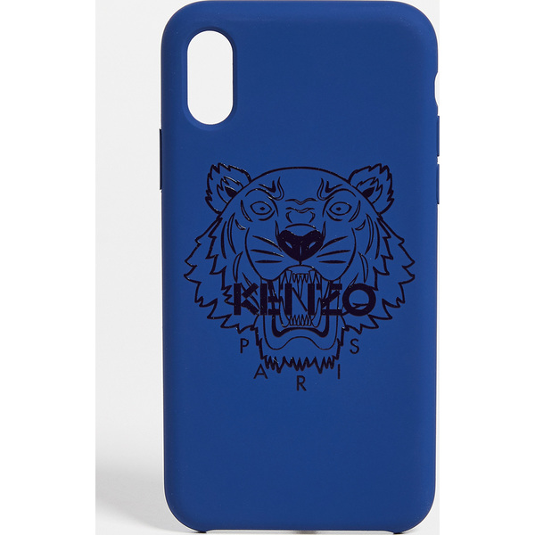 【クーポンで最大2000円OFF】(取寄)ケンゾー タイガー ヘッド iPhone X / XS ケース KENZO Tiger Head iPhone X / XS Case NavyBlue