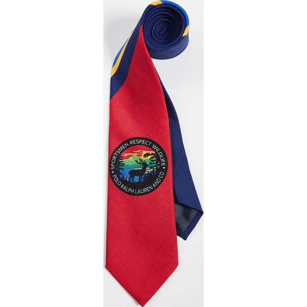 (取寄)ポロ ラルフローレン スポーツマン リスペクト タイ Polo Ralph Lauren Sportsmen Respect Tie Navy Red