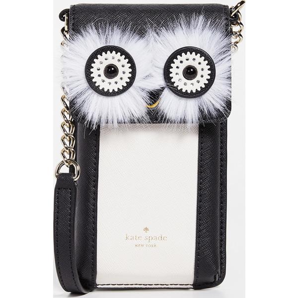 (取寄)ケイトスペード ペンギン フォン クロスボディ バッグ Kate Spade New York Penguin Phone Crossbody Bag BlackMulti