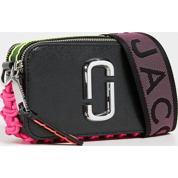 (取寄)マークジェイコブス スナップショット ウィップスティッチ カメラ バッグ Marc Jacobs Snapshot Whipstitch Camera Bag Black