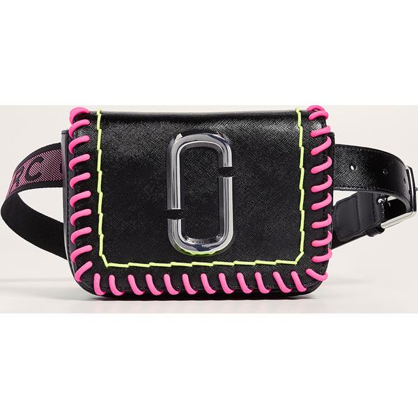 (取寄)マークジェイコブス S/M ヒップ ショット ウィップスティッチ コンバーチブル ベルト バッグ Marc Jacobs S/M Hip Shot Whipstitch Convertible Belt Bag Black