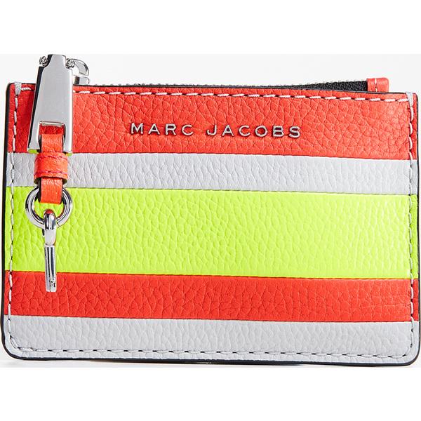 (取寄)マークジェイコブス ザ グラインド トップ ジップ マルチ ウォレット Marc Jacobs The Grind Top Zip Multi Wallet HotPinkMulti