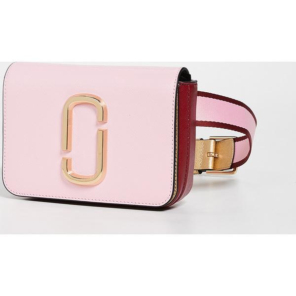 (取寄)マークジェイコブス ヒップ ショット コンバーチブル ベルト バッグ Marc Jacobs Hip Shot Convertible Belt Bag Pink Red