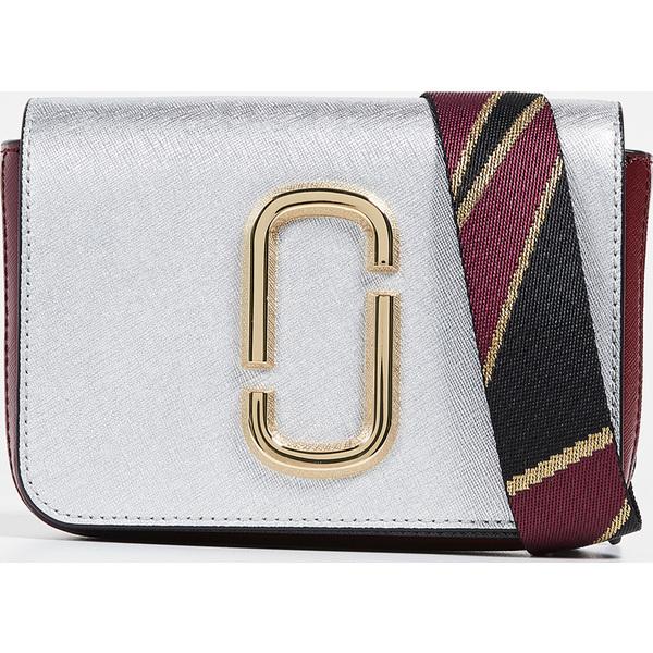 (取寄)マークジェイコブス M/L ヒップ ショット コンバーチブル ベルト バッグ Marc Jacobs M/L Hip Shot Convertible Belt Bag Silver