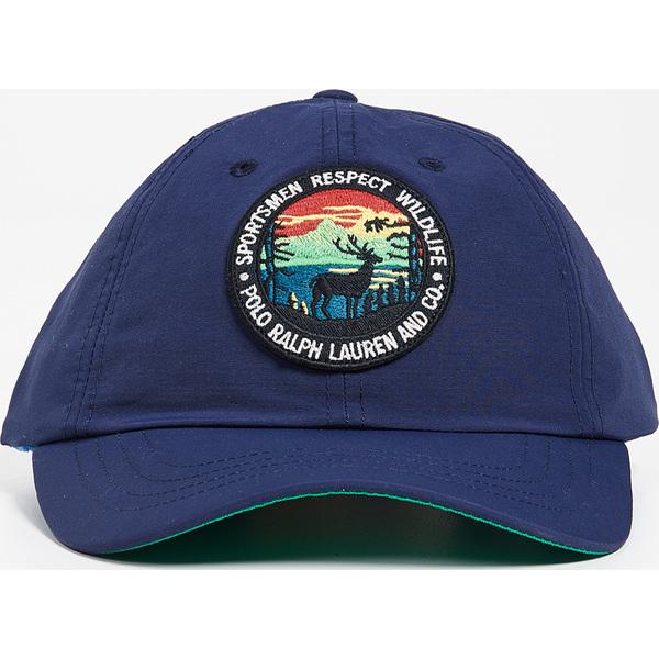 (取寄)ポロ ラルフローレン ハイキング パッチ キャップ Polo Ralph Lauren Hiking Patch Cap Navy