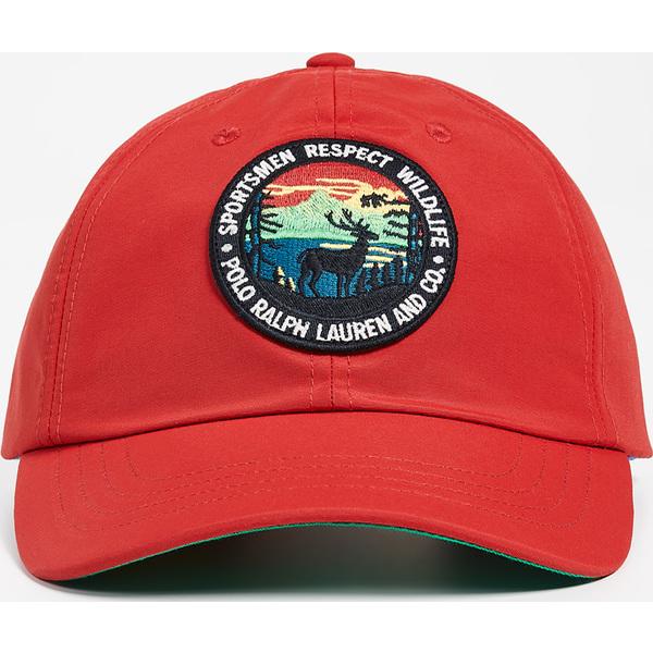 (取寄)ポロ ラルフローレン ハイキング パッチ キャップ Polo Ralph Lauren Hiking Patch Cap Red