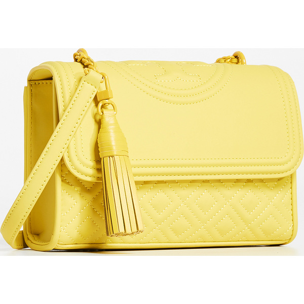 (取寄)トリーバーチ フレミング マット スモール コンバーチブル ショルダー バッグ Tory Burch Fleming Matte Small Convertible Shoulder Bag YellowOrchid