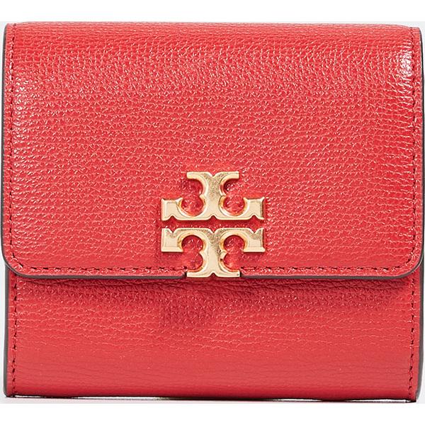 (取寄)トリーバーチ キラ フォルダブル ミディアム ウォレット Tory Burch Kira Foldable Medium Wallet BrilliantRed