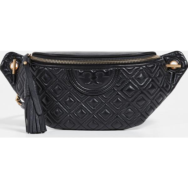 (取寄)トリーバーチ フレミング ベルト バッグ Tory Burch Fleming Belt Bag Black