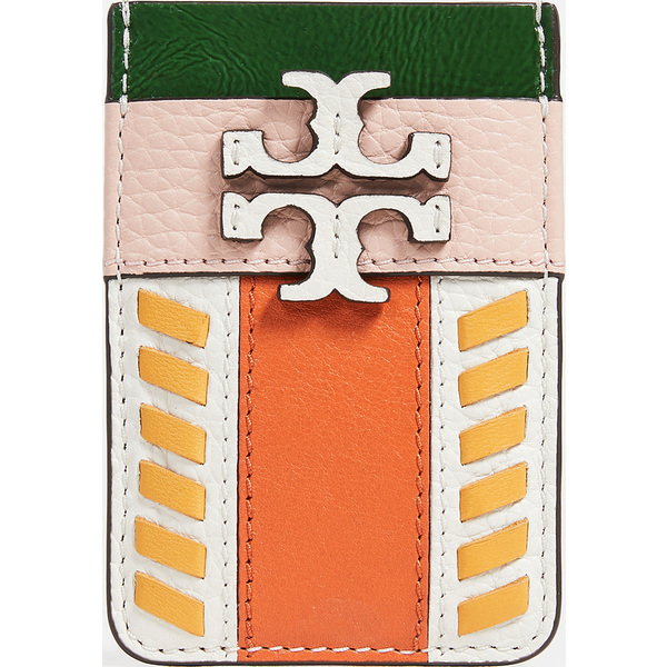 (取寄)トリーバーチ McGraw ピース カード ポケット Tory Burch McGraw Pieced Card Pocket Pink Mango