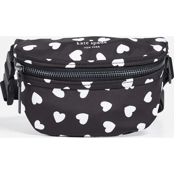 (取寄)ケイトスペード ザッツ ザ スピリッツ ベルト バッグ Kate Spade New York That's The Spirit Belt Bag Black Cream