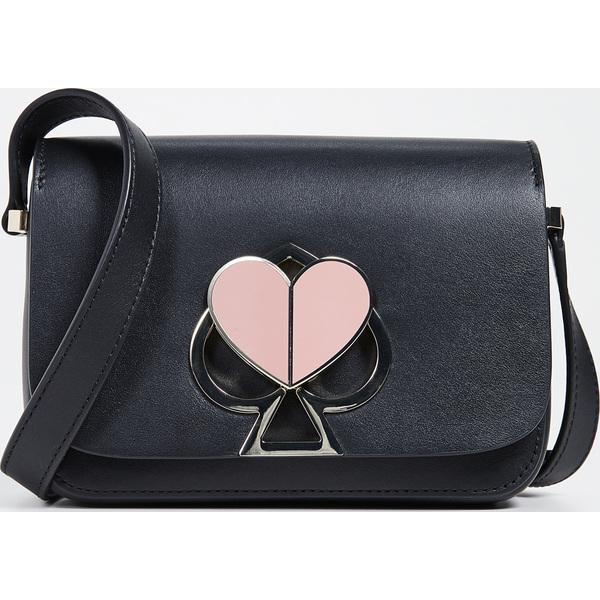 (取寄)ケイトスペード ニコラ スモール フラップ ショルダー バッグ Kate Spade New York Nicola Small Flap Shoulder Bag Black