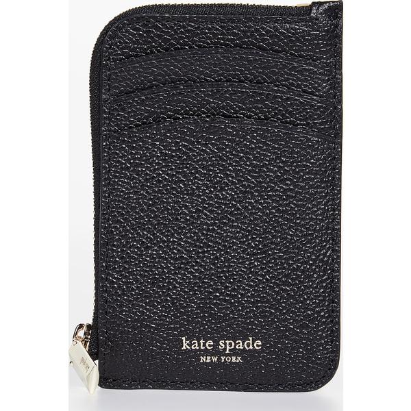 (取寄)ケイトスペード マルゴー ジップ カード ホルダー Kate Spade New York Margaux Zip Card Holder Black