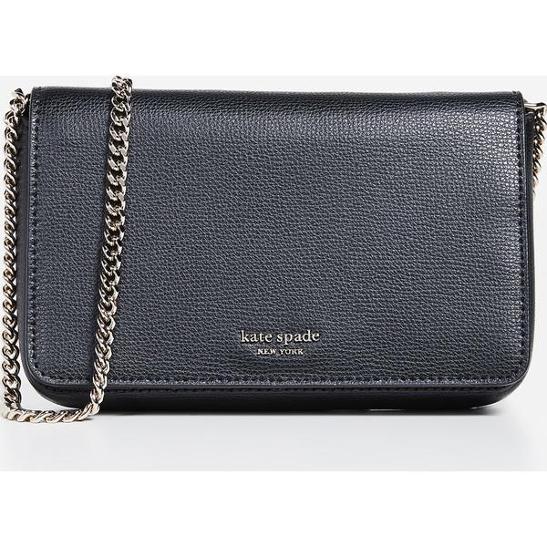 (取寄)ケイトスペード シルビア チェイン ウォレット Kate Spade New York Sylvia Chain Wallet Black
