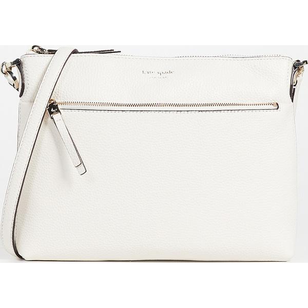 (取寄)ケイトスペード ポーリー ミディアム クロスボディ バッグ Kate Spade New York Polly Medium Crossbody Bag Parchment