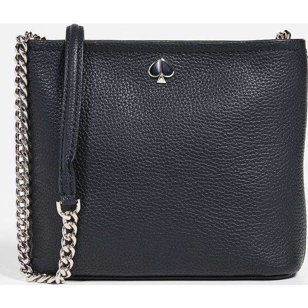 (取寄)ケイトスペード ポーリー スモール コンバーチブル クロスボディ バッグ Kate Spade New York Polly Small Convertible Crossbody Bag Black