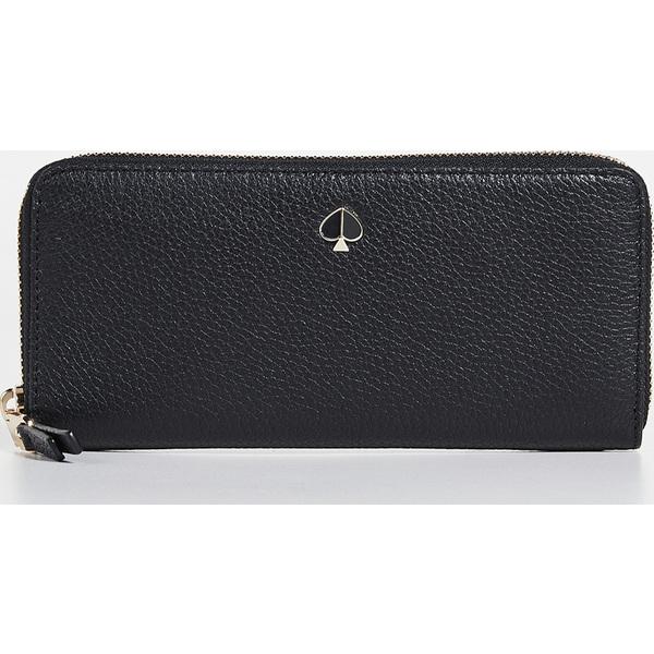 (取寄)ケイトスペード ポーリー スリム コンチネンタル ウォレット Kate Spade New York Polly Slim Continental Wallet Black