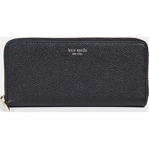 (取寄)ケイトスペード マルゴー スリム コンチネンタル ウォレット Kate Spade New York Margaux Slim Continental Wallet Black