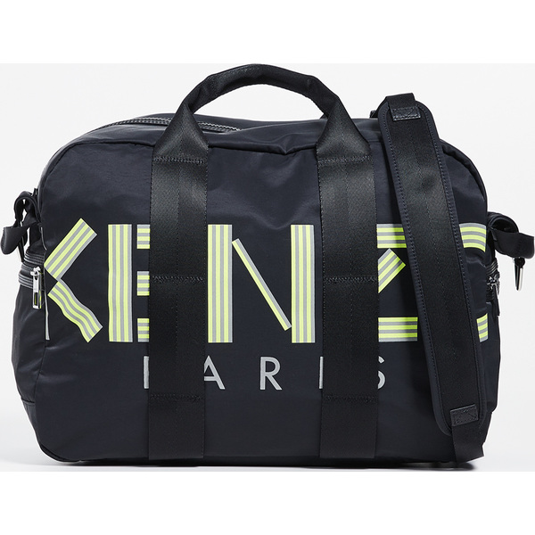 (取寄)ケンゾー ロゴ ウィークエンダー バッグ KENZO Logo Weekender Bag Black