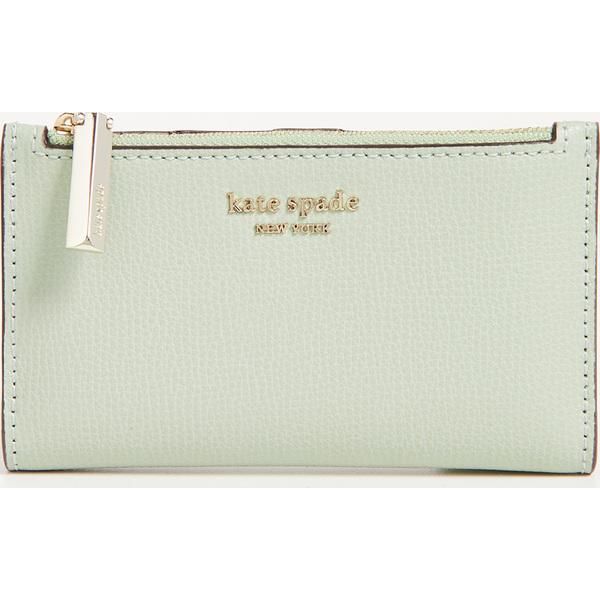 (取寄)ケイトスペード シルビア スモール スリム バイフォールド ウォレット Kate Spade New York Sylvia Small Slim Bifold Wallet LightPistachio