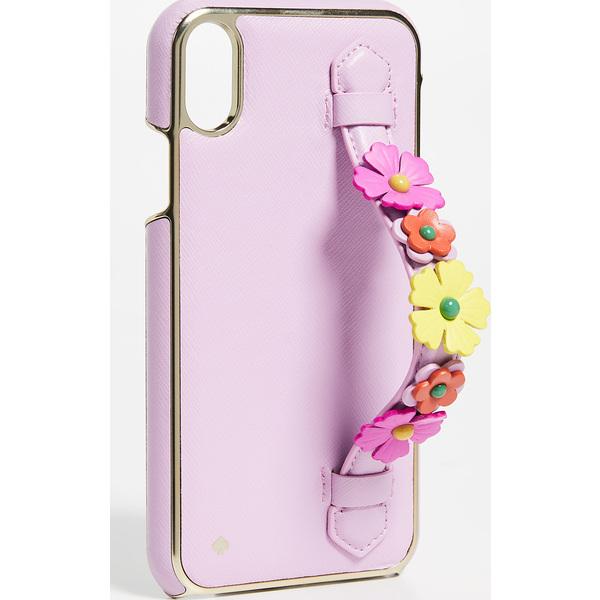 (取寄)ケイトスペード フローラル ハンド ストラップ スタンド アイフォン ケース Kate Spade New York Floral Hand Strap Stand iPhone Case Multi