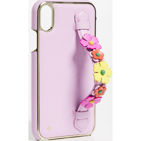 (取寄)ケイトスペード フローラル ハンド ストラップ スタンド XS マックス アイフォン ケース Kate Spade New York Floral Hand Strap Stand XS Max iPhone Case Multi