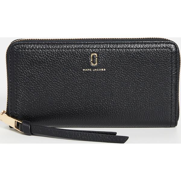 【エントリーでポイント5倍】(取寄)マークジェイコブス スタンダード コンチネンタル ウォレット Marc Jacobs Standard Continental Wallet Black