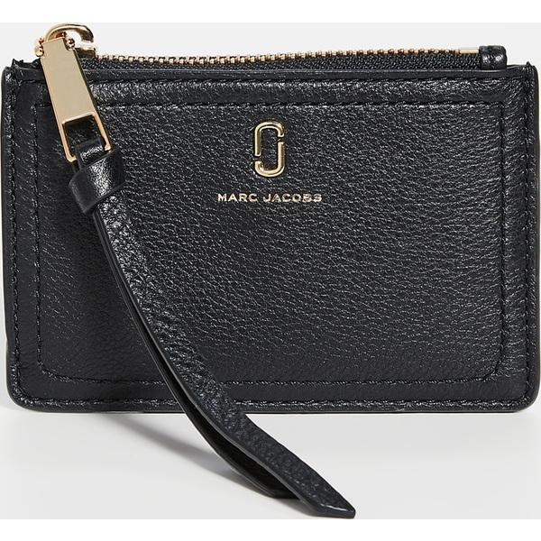 【エントリーでポイント5倍】(取寄)マークジェイコブス トップ ジップ マルチ ウォレット Marc Jacobs Top Zip Multi Wallet Black