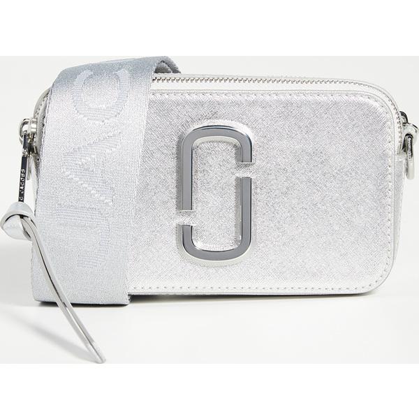 【エントリーでポイント5倍】(取寄)マークジェイコブス スナップショット DTM カメラ バッグ Marc Jacobs Snapshot DTM Camera Bag Silver