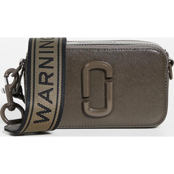 【エントリーでポイント5倍】(取寄)マークジェイコブス スナップショット DTM カメラ バッグ Marc Jacobs Snapshot DTM Camera Bag Ash
