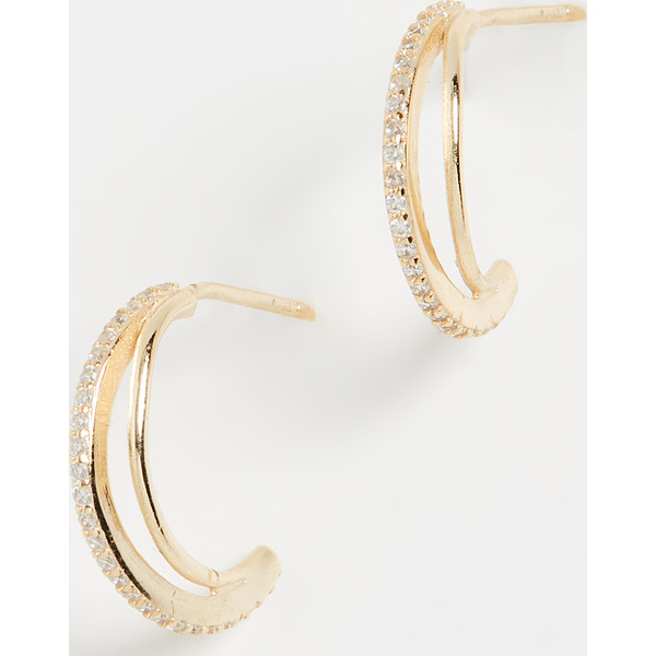 (取寄)シャシ ラスター ピアス Shashi Luster Earrings Gold