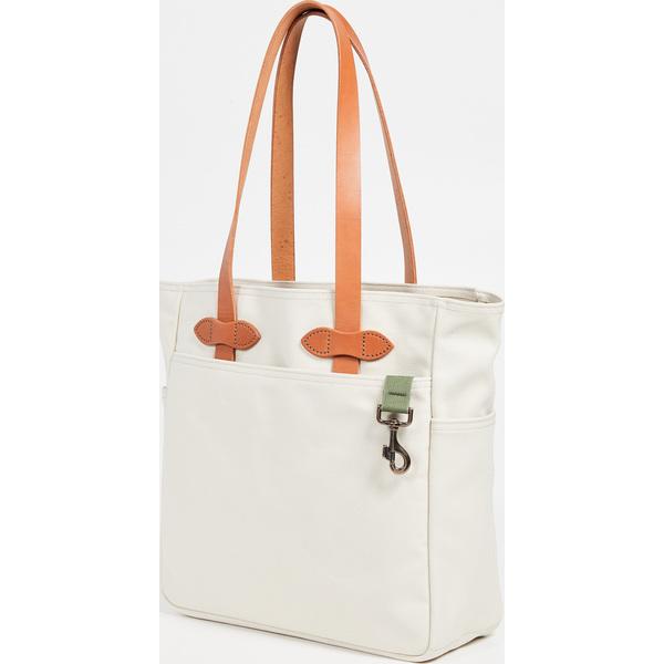 【エントリーでポイント5倍】(取寄)フィルソン トート バッグ ウィズアウト ジッパー FILSON Tote Bag without Zipper Natural