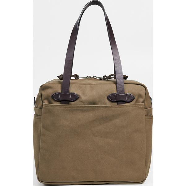 【エントリーでポイント5倍】(取寄)フィルソン トート バッグ ウィズ ジッパー FILSON Tote Bag with Zipper Sepia