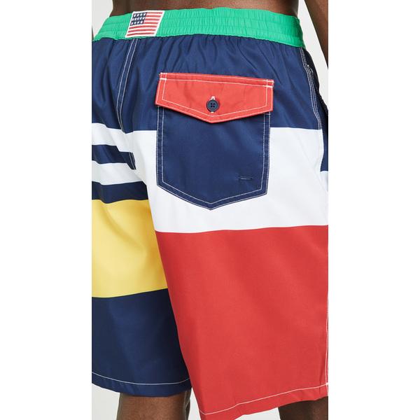 baf242947 ... (order) polo Ralph Lauren color block swim trunk Polo Ralph Lauren  Colorblock Swim Trunks ...