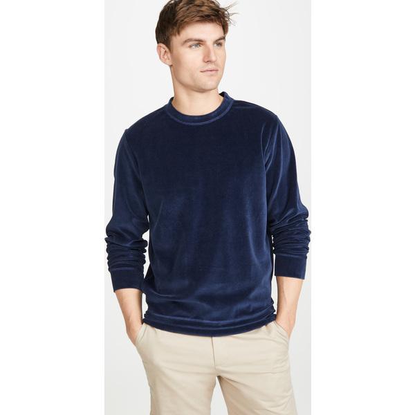 (取寄)アーペーセー バンデット スウェットシャツ A.P.C. Banded Sweatshirt DarkNavy