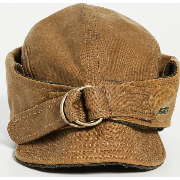 FILSON フィルソン キャップ 帽子 Cap ブランド (取寄)フィルソン ティン クロス ワイルドファウル ハット FILSON Tin Cloth Wildfowl Hat DarkTan