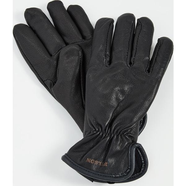 (取寄)フィルソン オリジナル ライン ゴートスキン グローブ FILSON Original Lined Goatskin Gloves Black