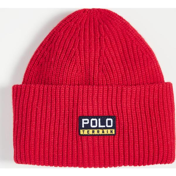 (取寄)ポロ ラルフローレン ポロ テレイン カフ ハット Polo Ralph Lauren Polo Terrain Cuff Hat Red