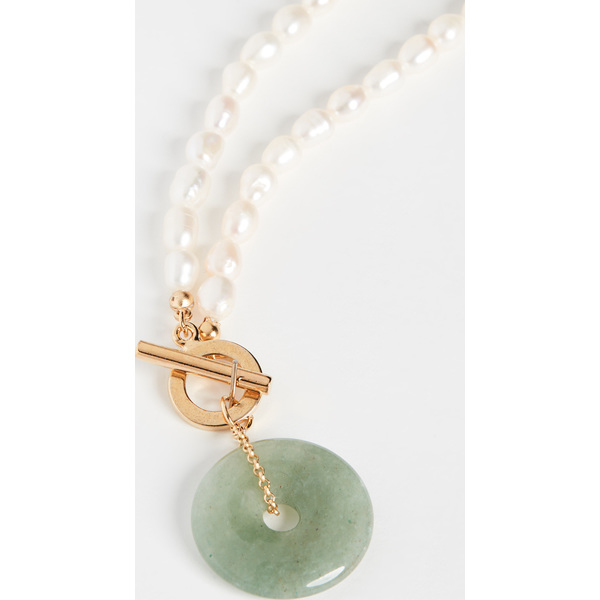 (取寄)シャシ ズーパーノーヴァ ネックレス Shashi Supernova Necklace Jade Pearl