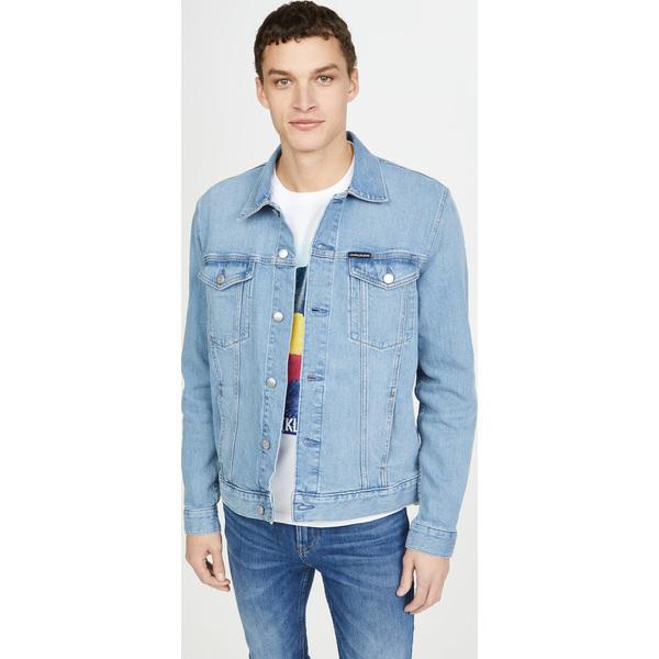 (取寄)カルバンクライン ジーンズ エッセンシャル トラッカー ジャケット Calvin Klein Jeans Essential Trucker Jacket Chloe