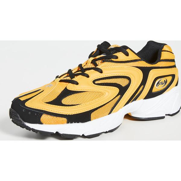 (取寄)フィラ クリエーター スニーカー FILA Creator Sneakers OldGold Black White