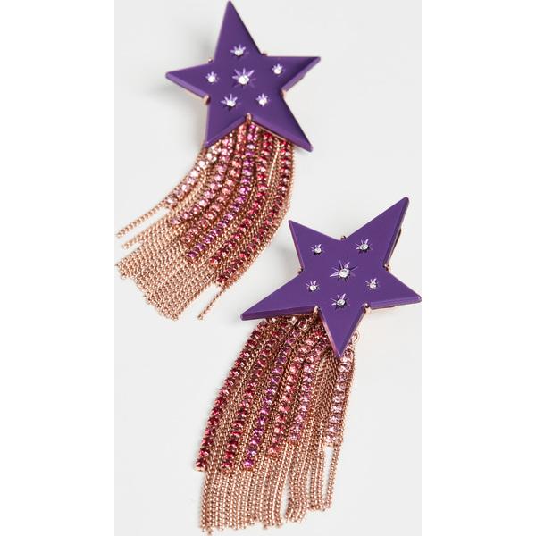 (取寄)ケイトスペード フリンジ ピアス Kate Spade New York Fringe Earrings PurpleMulti
