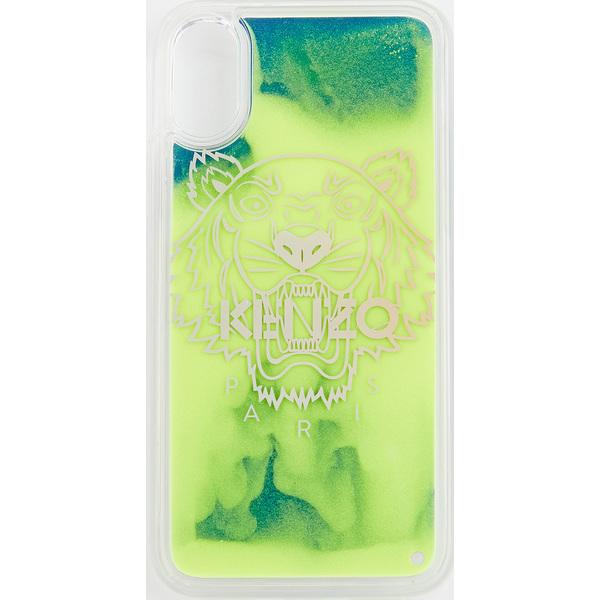 (取寄)ケンゾー タイガー ヘッド アイフォン x / XS ケース KENZO Tiger Head iPhone X / XS Case Lemon