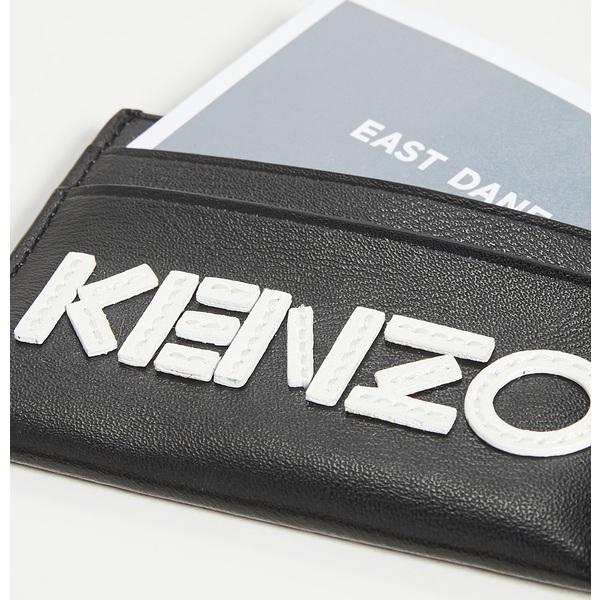 【エントリーでポイント5倍】(取寄)ケンゾー ケンゾー ロゴ カードホルダー KENZO Kenzo Logo Cardholder Black