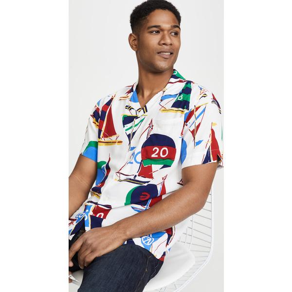 (取寄)ポロ ラルフローレン ノーティカル セイル プリント シャツ Polo Ralph Lauren Nautical Sail Print Shirt Multi