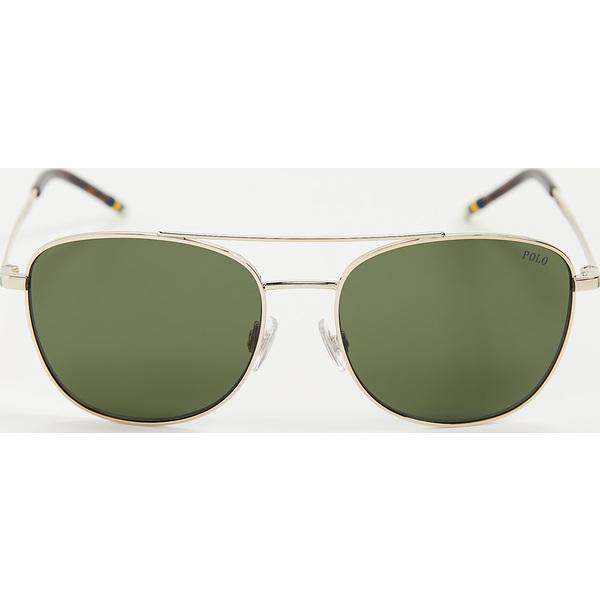 【エントリーでポイント5倍】(取寄)ポロ ラルフローレン 0PH3127-サングラス Polo Ralph Lauren 0PH3127-Sunglasses ShinyPaleGold